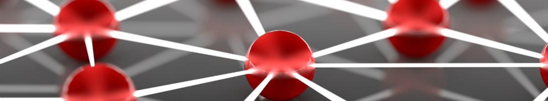 Network-pattern-red-3D-B2